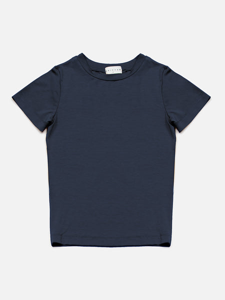 Mimi Baby Tee / Navy, Women's, Clothing, Apparel - Drifter Industries