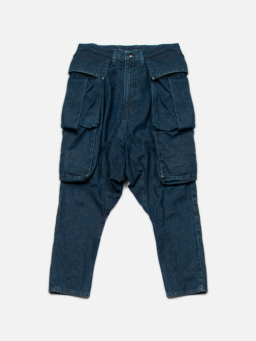 Zirconia Denim Pants / Indigo