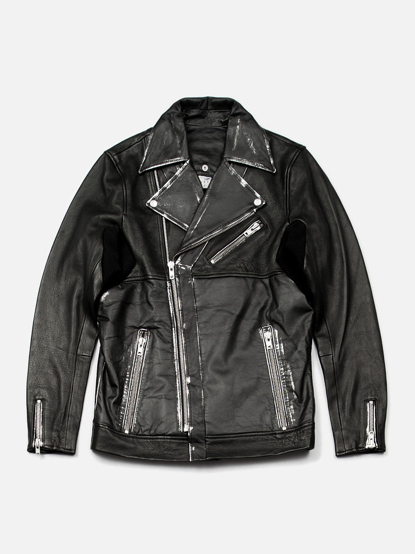Maverick Leather Moto Jacket