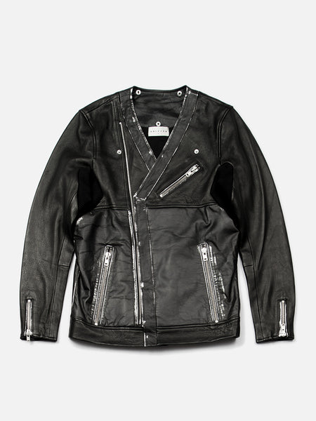 Maverick Leather Moto Jacket, Men's, Clothing, Apparel - Drifter Industries