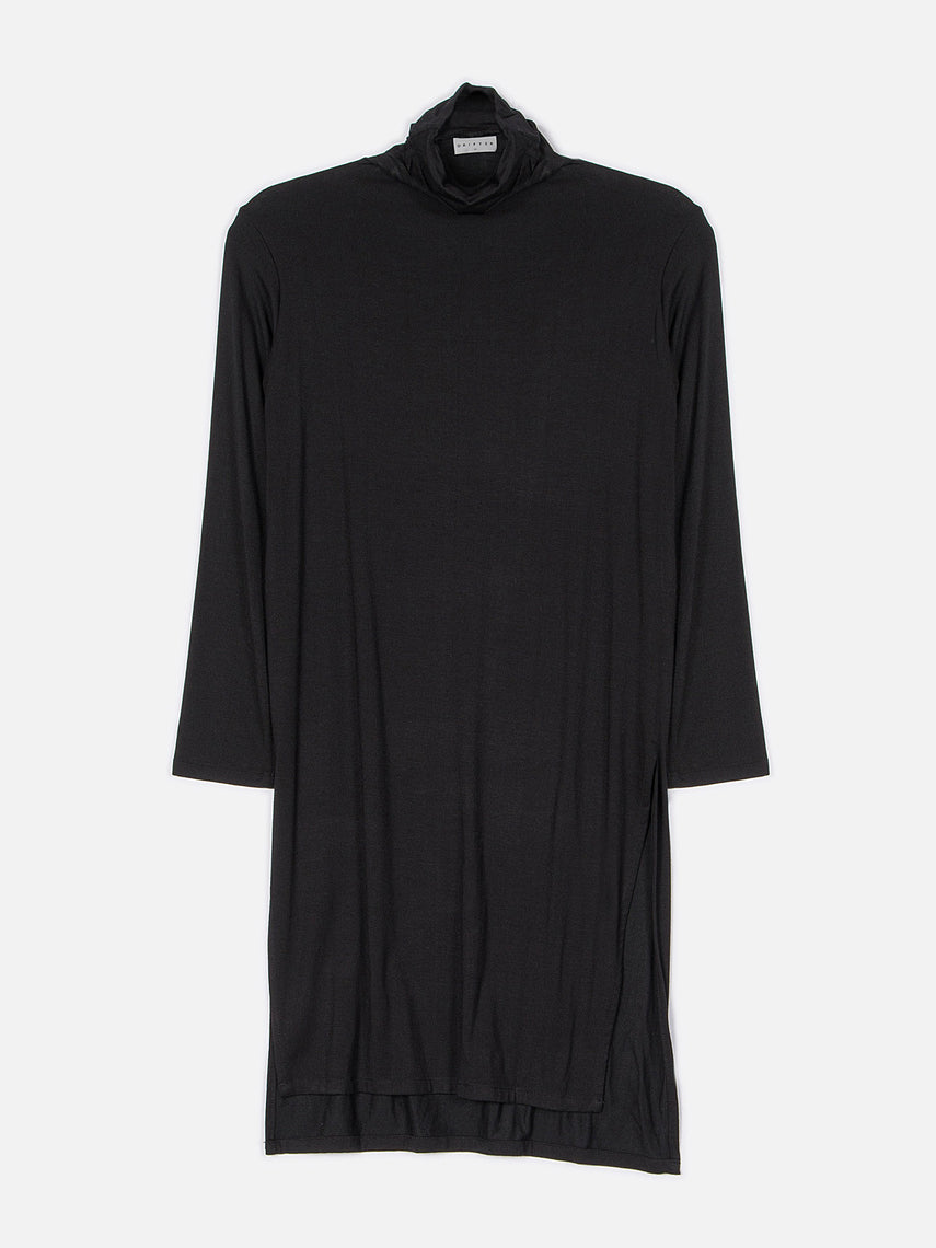 Qadira Long Sleeve Top / Black
