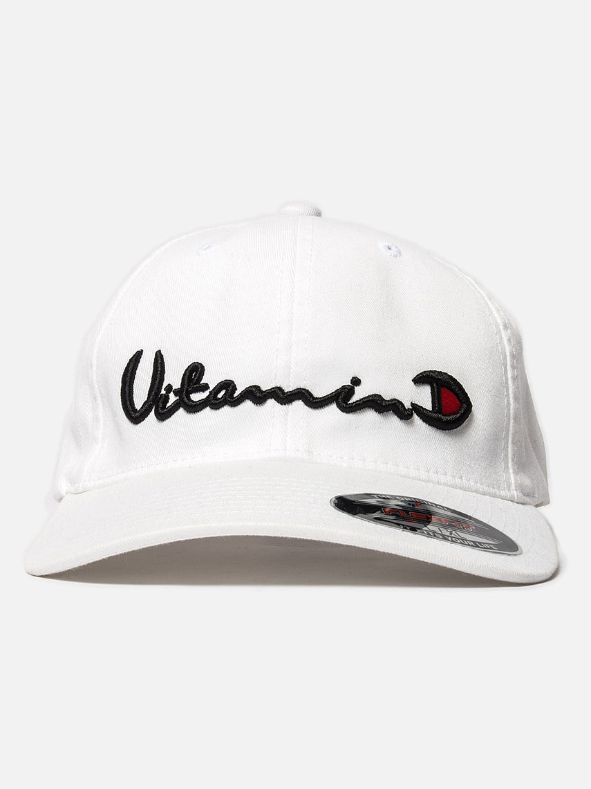 D x A Vitamin D Hat / White, Collaboration, Clothing, Apparel - Drifter Industries