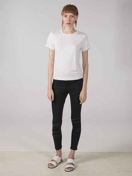 Mimi Baby Tee / White, Women's, Clothing, Apparel - Drifter Industries
