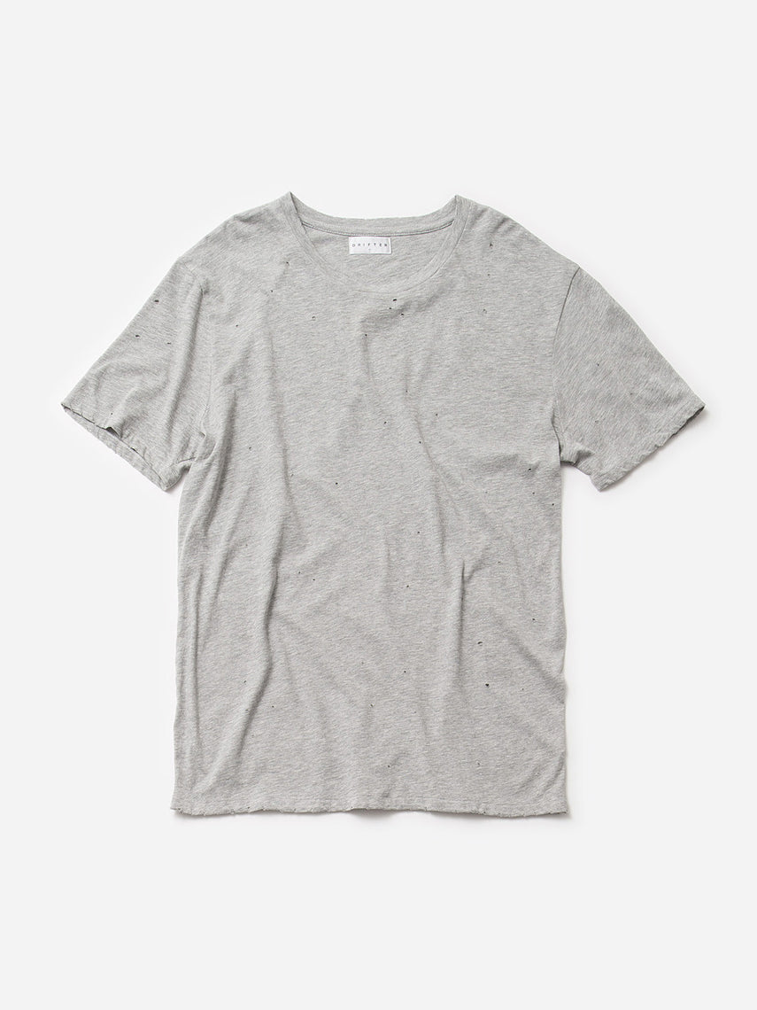 Saferris Tee / Heather Grey, Men's, Clothing, Apparel - Drifter Industries