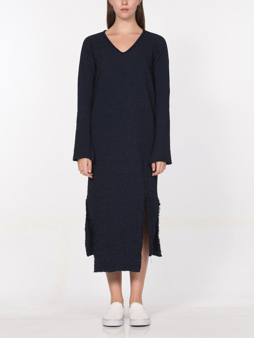Agatha Dress / Navy, Women's, Clothing, Apparel - Drifter Industries