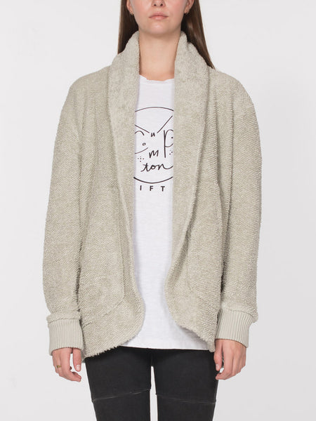 Gatsby Cardigan / Overcast, Women's, Clothing, Apparel - Drifter Industries