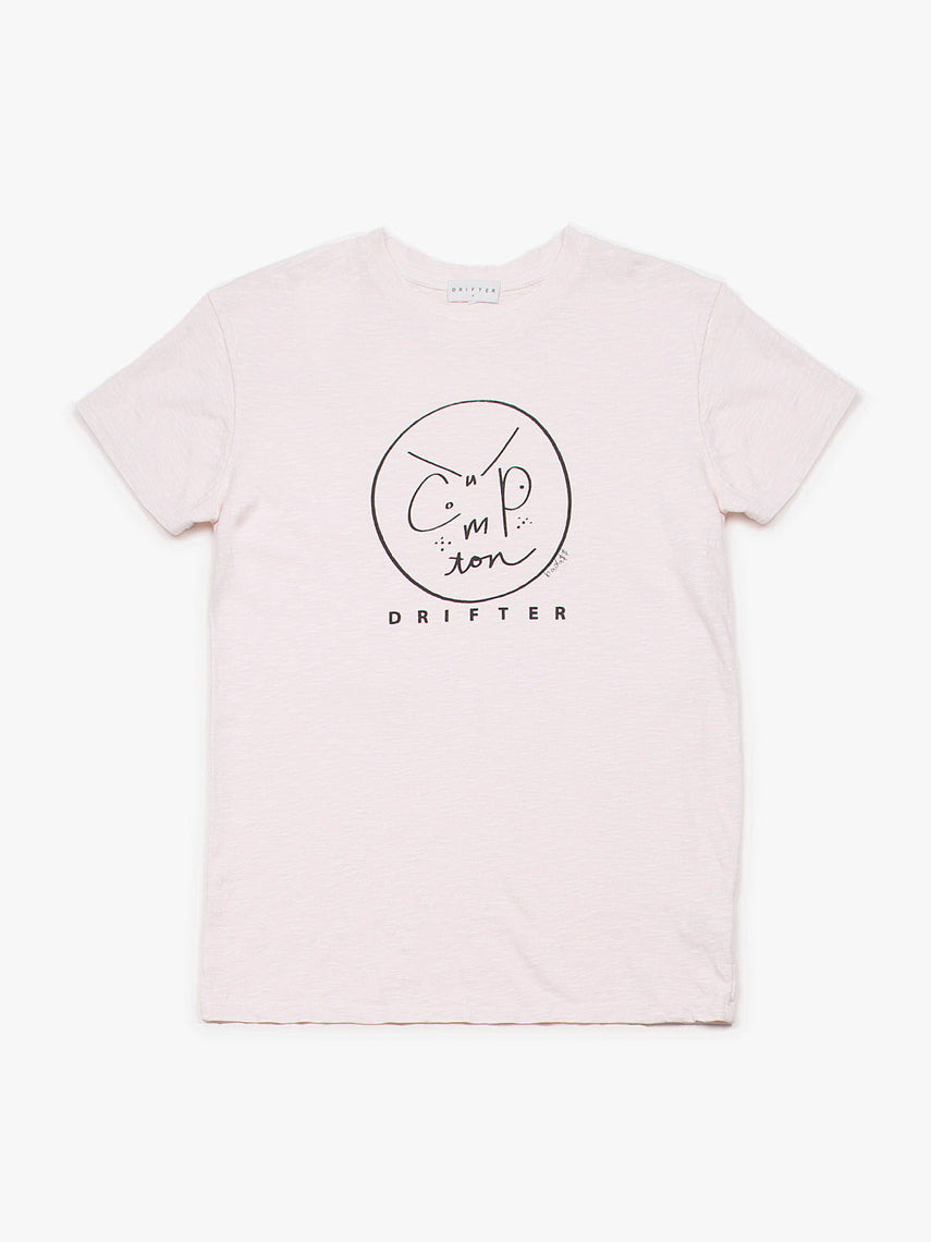Compton Smiles Tee, Women's, Clothing, Apparel - Drifter Industries