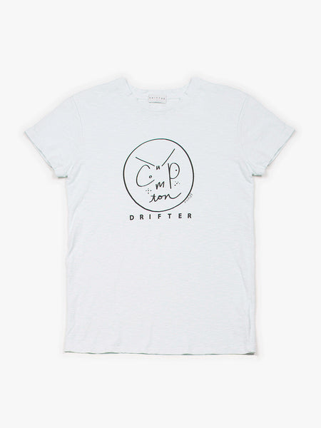 Compton Smiles Tee / Iceberg, Women's, Clothing, Apparel - Drifter Industries