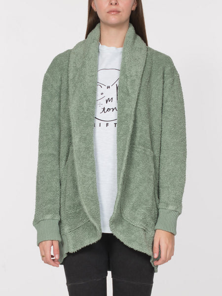 Gatsby Cardigan / Iceberg Green, Women's, Clothing, Apparel - Drifter Industries