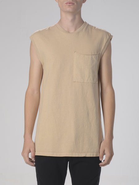Novikov Tank Top / Light Sand, Men's, Clothing, Apparel - Drifter Industries
