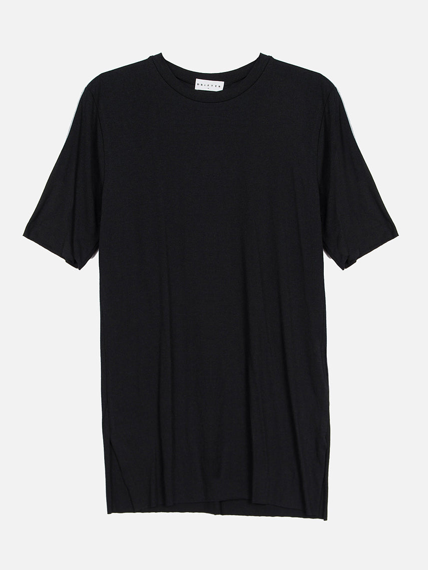 Nelson Elongated Tee / Black