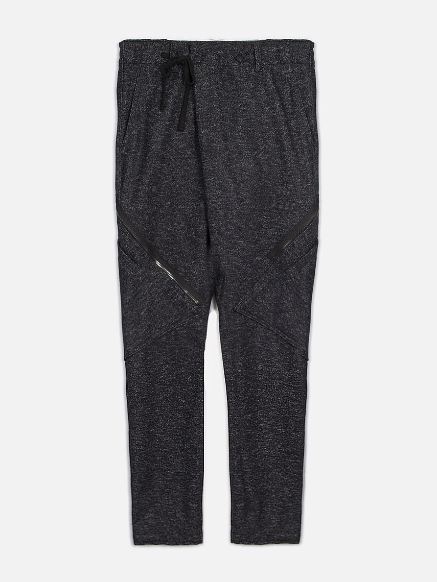 Berenger Relaxed Fit Pant / Heather Black