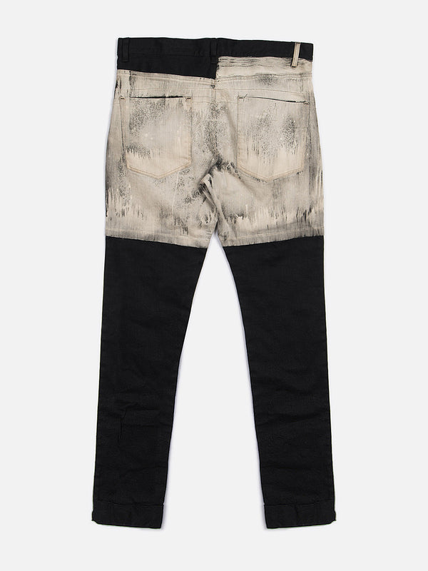 Kaiser Denim / Black Bleach, Men's, Clothing, Apparel - Drifter Industries