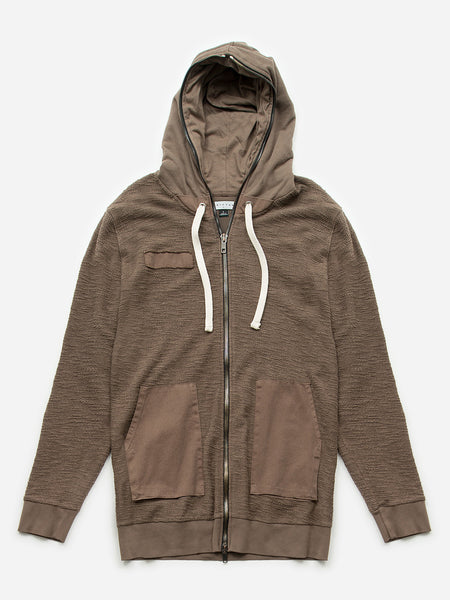 Dermid Hoodie / Walnut, Men's, Clothing, Apparel - Drifter Industries
