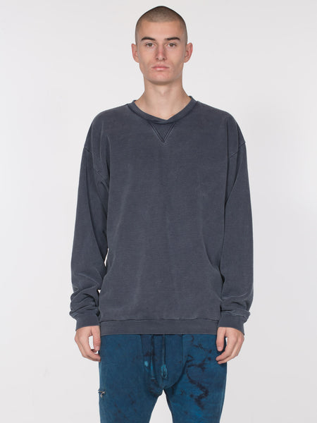 Bolton Pullover / Navy, Men's, Clothing, Apparel - Drifter Industries