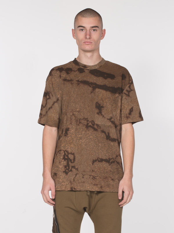 Granite Short Sleeve Top / Sepia Rain, Men's, Clothing, Apparel - Drifter Industries