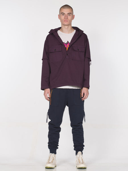 Webster Hooded Pullover | Online Exclusive / Blackberry