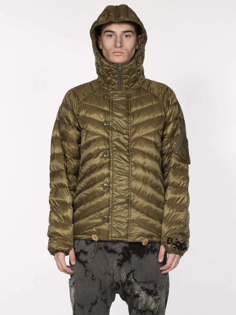 Donnie Down Jacket / Lizard, Men's, Clothing, Apparel - Drifter Industries