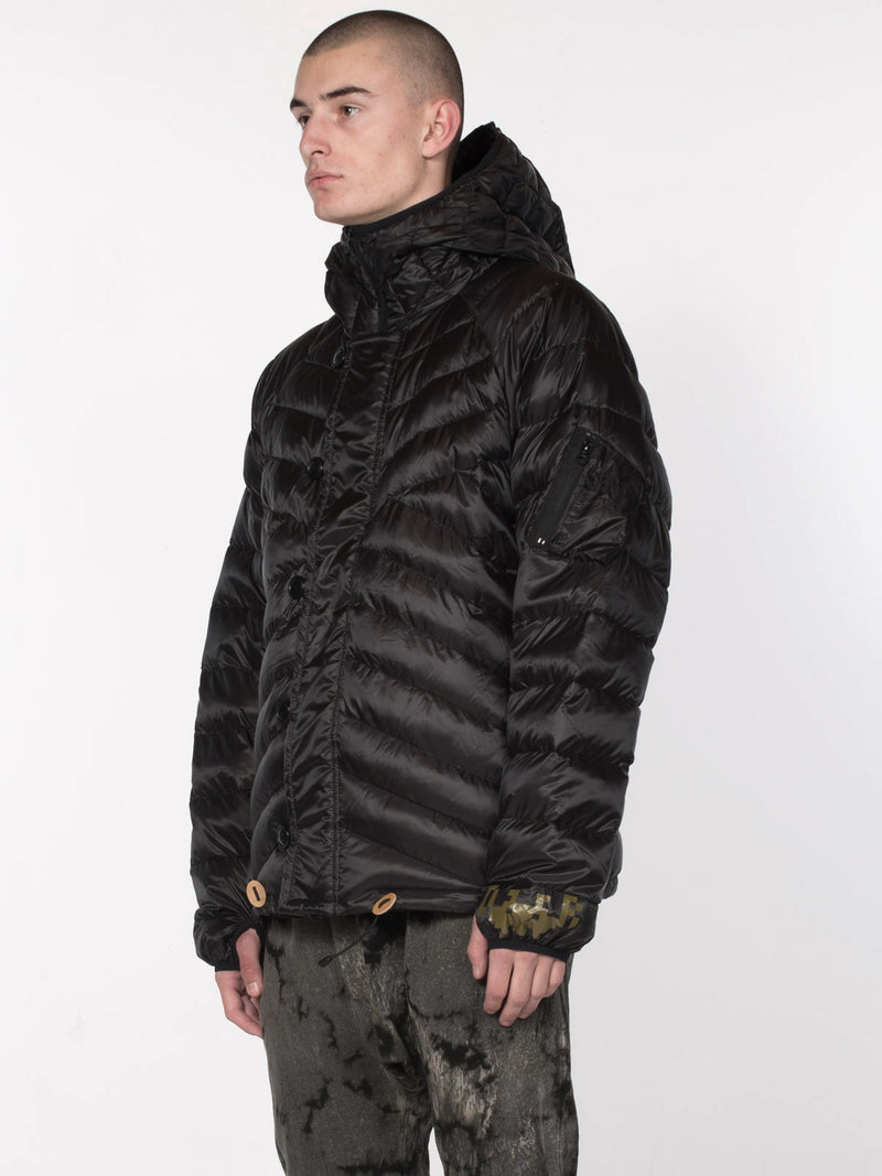Donnie Down Jacket / Black, Men's, Clothing, Apparel - Drifter Industries
