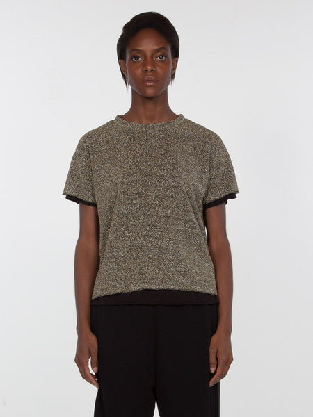 Fantasia Metallic Top / Pewter