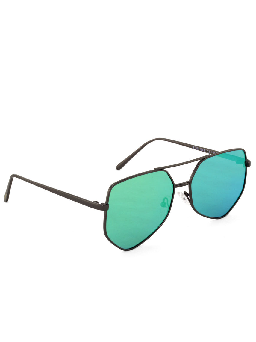 Figueroa Money Green Sunglasses, Accessories, Clothing, Apparel - Drifter Industries