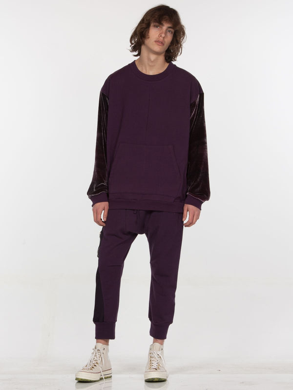 Galeras Pullover / Blackberry, Men's, Clothing, Apparel - Drifter Industries