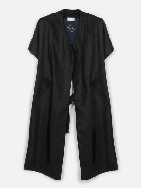 Gladiolus Reversible Long Cardigan