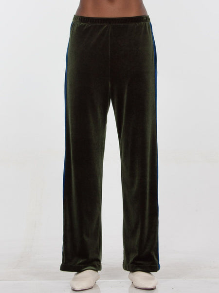 Havana Trouser / Olive x Navy, Women's, Clothing, Apparel - Drifter Industries
