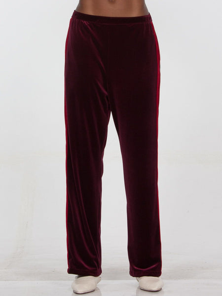 Havana Trouser / Blackberry x Red, Women's, Clothing, Apparel - Drifter Industries