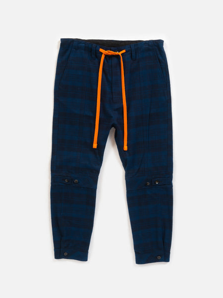 HitchHiker Pant / Navy Plaid