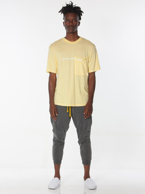 Ibidem Crew Neck Top / Sunshine