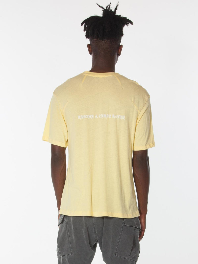 Ibidem Crew Neck Top / Sunshine, Men's, Clothing, Apparel - Drifter Industries