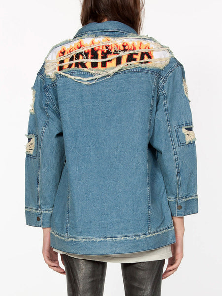 Pastiche Denim Jacket, Women's, Clothing, Apparel - Drifter Industries