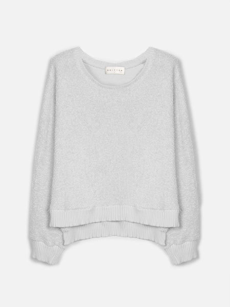 Somalia Crop Pullover / Moonbeam, Women's, Clothing, Apparel - Drifter Industries