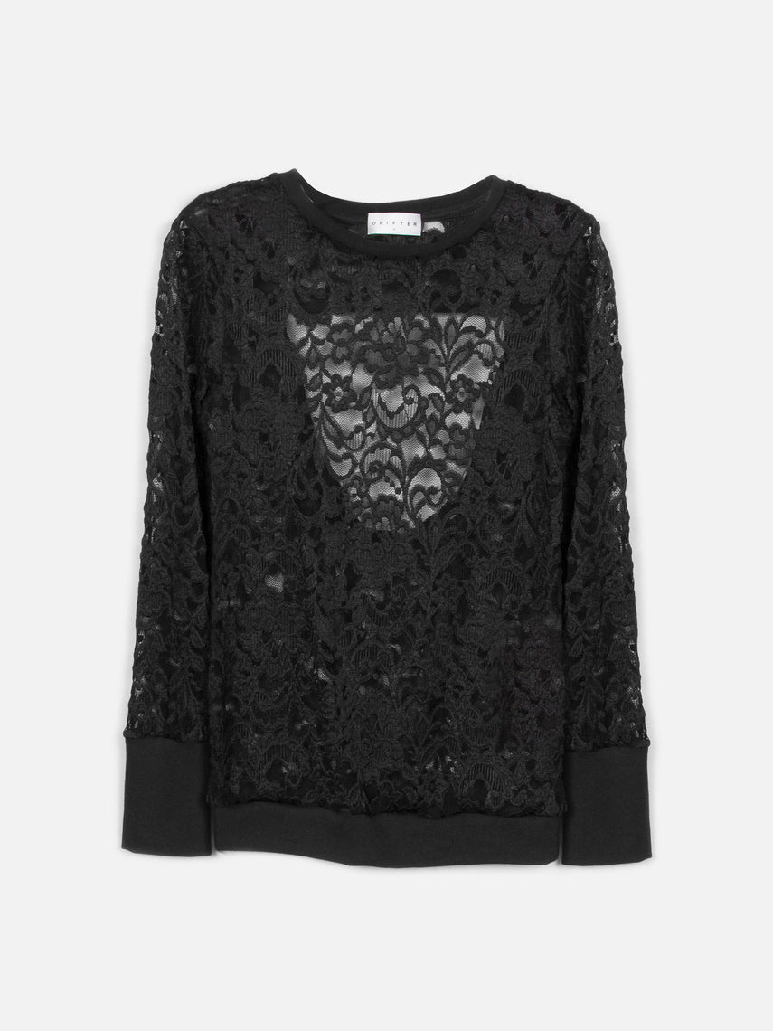 Diana Sweater / Black, Women's, Clothing, Apparel - Drifter Industries
