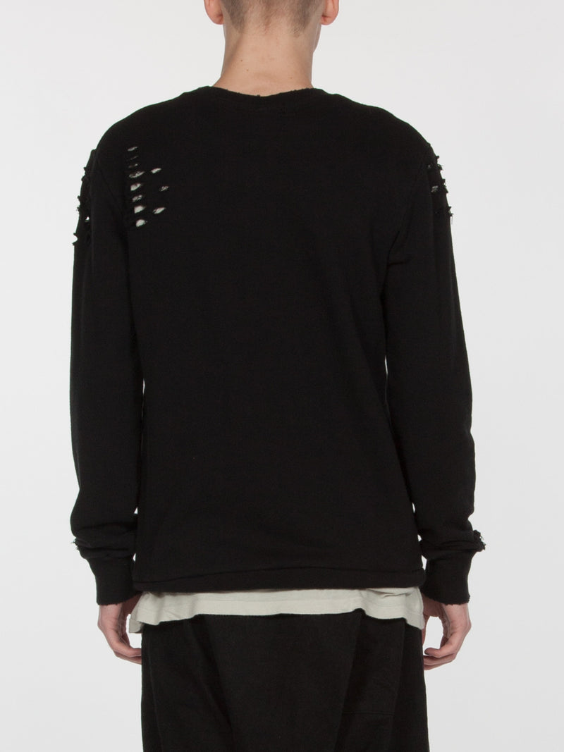 Brendan Pullover / Black, Men's, Clothing, Apparel - Drifter Industries