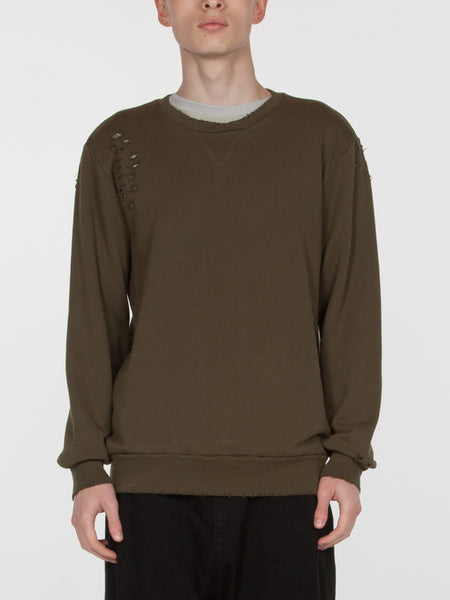Brendan Pullover / Dark Army, Men's, Clothing, Apparel - Drifter Industries