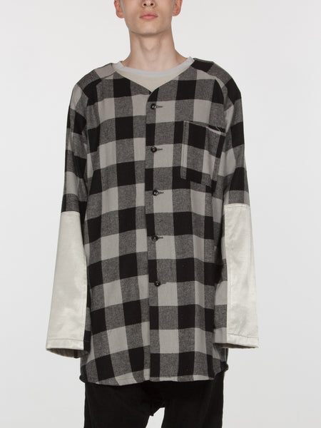 Tora Baseball Top // Plaid/White, Men's, Clothing, Apparel - Drifter Industries