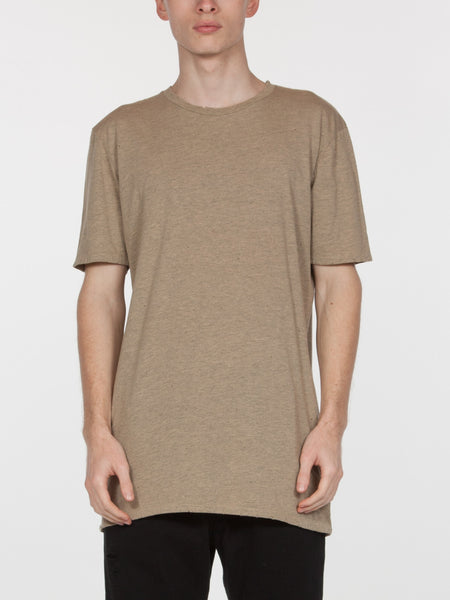 Saferris Tee / Heather Sand
