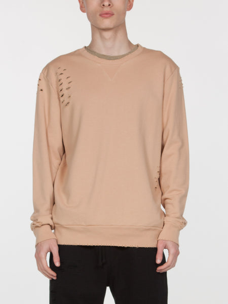 Brendan Pullover / Light Sand, Men's, Clothing, Apparel - Drifter Industries