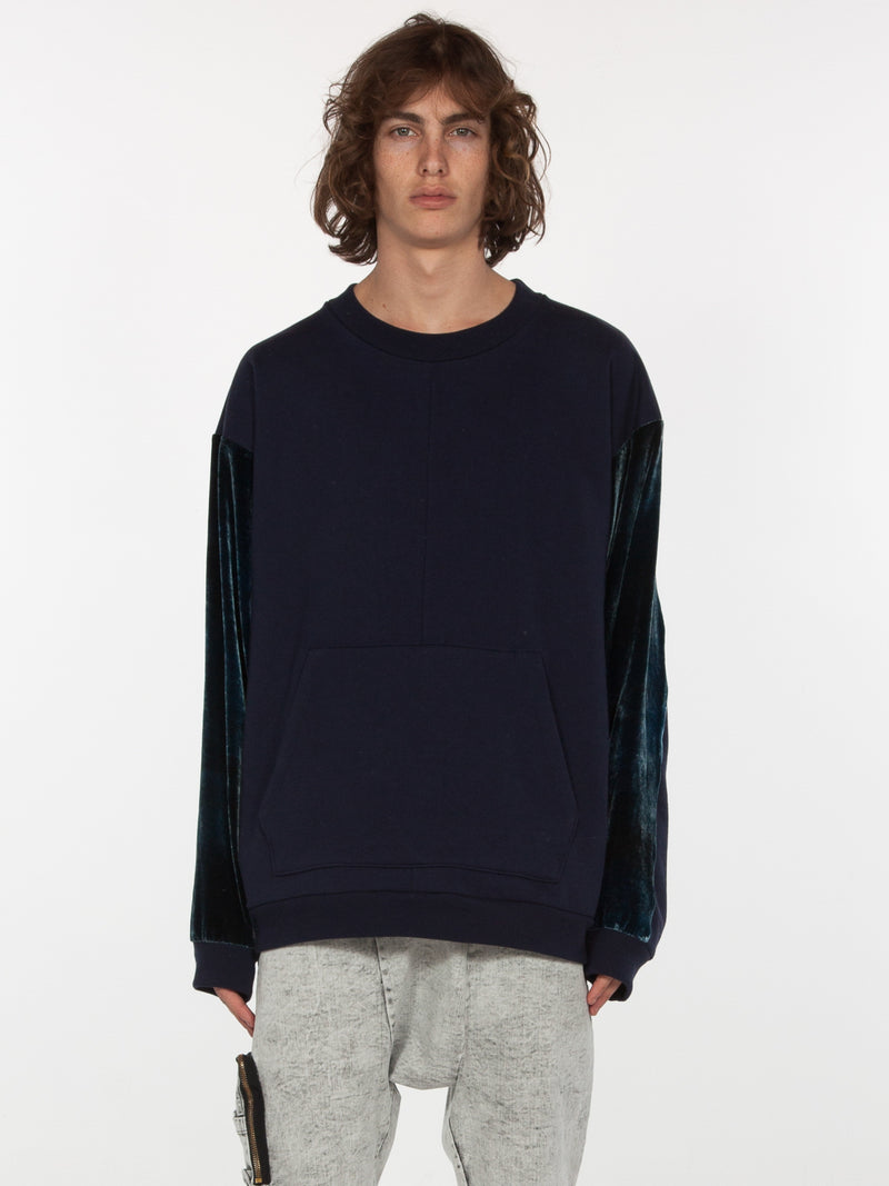 Galeras Pullover / Navy, Men's, Clothing, Apparel - Drifter Industries
