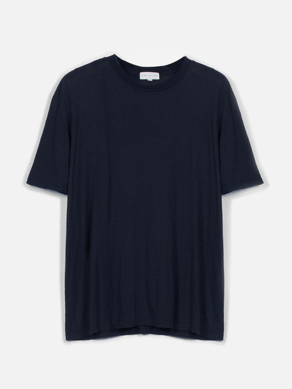 Pavel Lounge T-Shirt / Navy, Men's, Clothing, Apparel - Drifter Industries