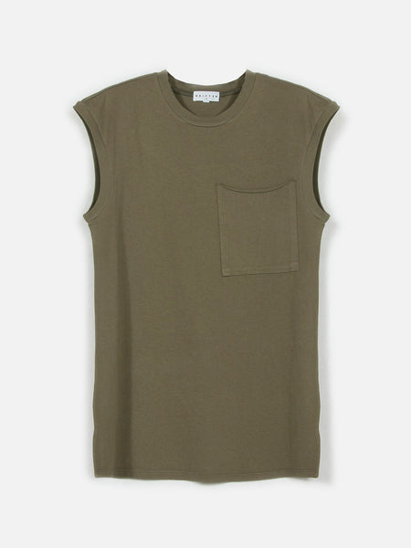 Novikov Tank Top / Light Army, Men's, Clothing, Apparel - Drifter Industries