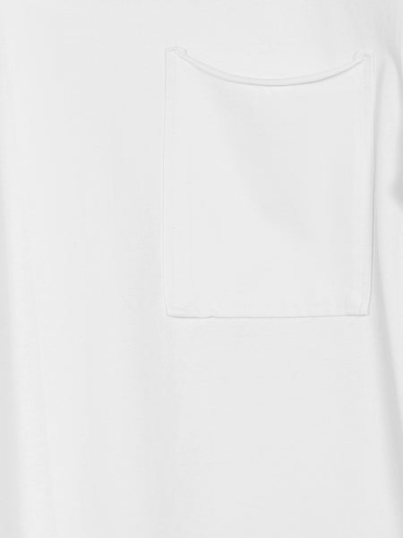 Auron Crew Neck Top / White, Men's, Clothing, Apparel - Drifter Industries