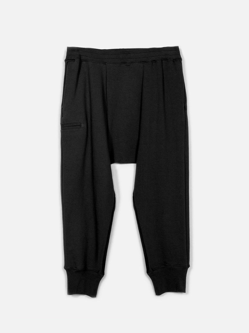 Sanctum Drop Crotch Pant / Black, Men's, Clothing, Apparel - Drifter Industries