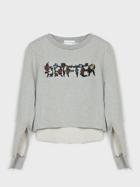 Savanna Novelty Pullover / Heather Grey
