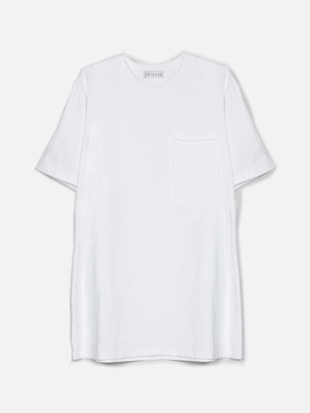 Ibidem Crew Neck Top / White, Men's, Clothing, Apparel - Drifter Industries