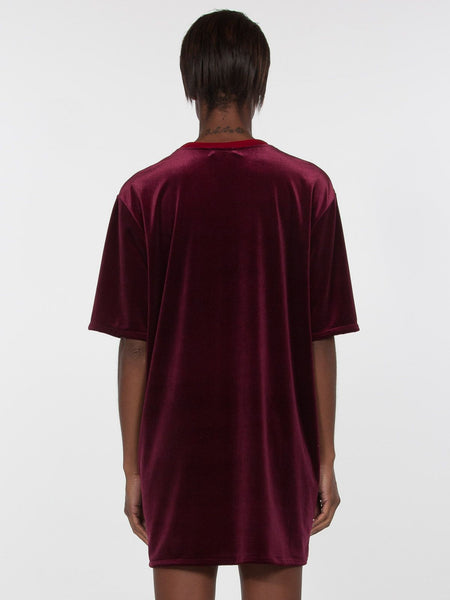 Jabelle Tee Dress / Burgundy
