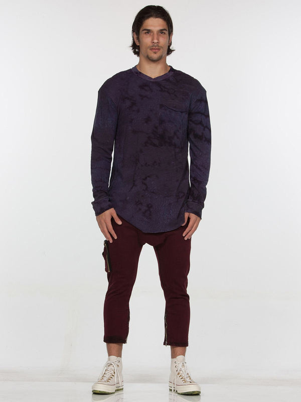 Keld Long Sleeve Top / Blackberry Rain, Men's, Clothing, Apparel - Drifter Industries