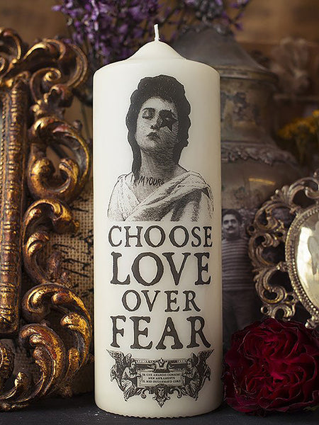 Love - Visionary Pillar Candle